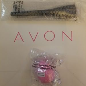 Contour brush and flawless applicator